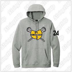 36 Chambers Lacrosse - Nike Club Fleece Pullover Hoodie - Grey