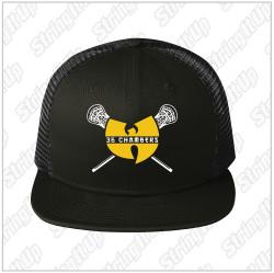 36 Chambers Lacrosse New Era® Original Fit Snapback Trucker Cap