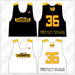 36 Chambers Official Lacrosse Team Reversible Jersey