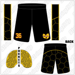 36 Chambers Official Lacrosse Team Issued Game Short
