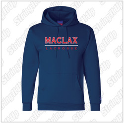 MacLax Adult Champion - Double Dry Eco® Hooded Sweatshirt  - Navy