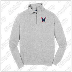 MacLax Adult Sport-Tek® 1/4-Zip Sweatshirt - Athletic Heather Grey