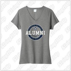 HHS Booster - Women's Port & Company ® Fan Favorite ™ Blend V-Neck Tee Alumni
