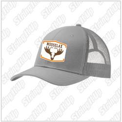 MooseLax Headwear Snapback Trucker Dusty Grey