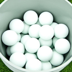 Bucket of 50 Lacrosse Balls