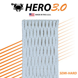 East Coast Dyes Hero Mesh 3.0 White Semi-Hard