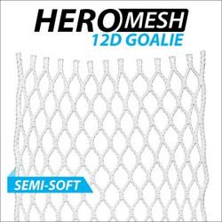 ECD Goalie 12D Hero Mesh Stringing- Semi-Soft
