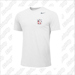 CSH Tennis Nike Short Sleeve Dri-Fit - WHITE