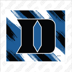 Duke Lacrosse Super Plush Blanket