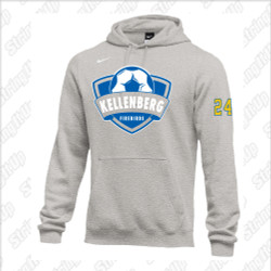 Kellenberg Nike Club Fleece Pullover Hoodie - Youth