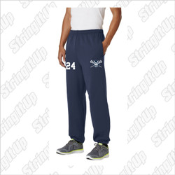 Huntington Lax Adult Port & Company® - Essential Fleece Sweatpants with Pockets