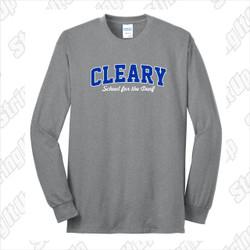 Cleary School Adult Long Sleeve Tee Shirt