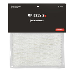 String King 12D Grizzly 2S Mesh Stringing White