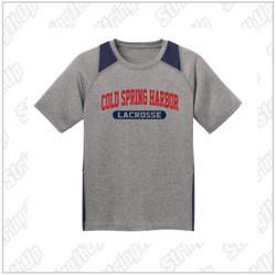CSH Adult Sport-Tek® Heather Colorblock Contender™ Tee
