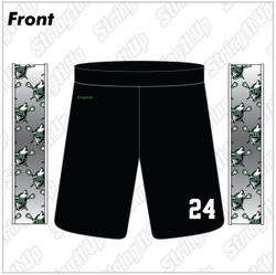 Wolf Pack Sublimated Lacrosse Shorts