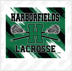 Harborfield Lacrosse Super Plush Blanket