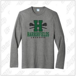 Harborfields Lacrosse Adult Port & Company® Fan Favorite ™ Long Sleeve Blend Tee
