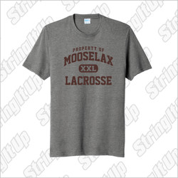 MooseLax Adult Short Sleeve Blend Tee