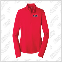 CSH Cross Country - Sport-Tek® Ladies PosiCharge® Competitor™ 1/4-Zip Pullover