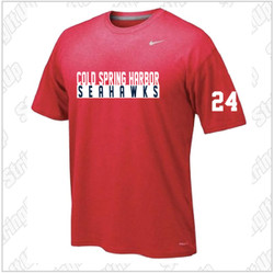 CSH Girls Soccer Nike Short Sleeve Legend Tee