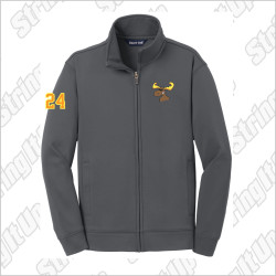 MooseLax Youth Sport-Tek® Sport-Wick® Fleece Full-Zip Jacket