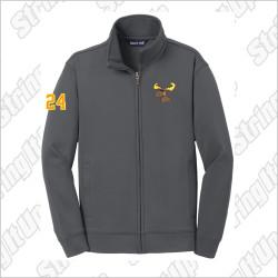 MooseLax Adult Sport-Tek® Sport-Wick® Fleece Full-Zip Jacket