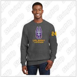 Albany Sport-Tek® Super Heavyweight Crewneck Sweatshirt Charcoal
