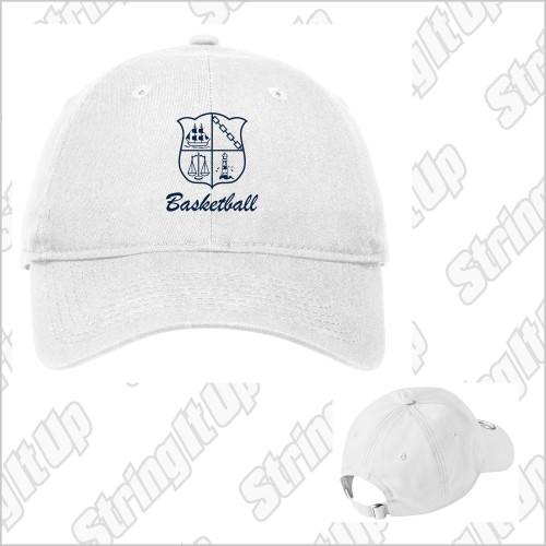 CSH Basketball New Era® - Adjustable Unstructured Cap - White