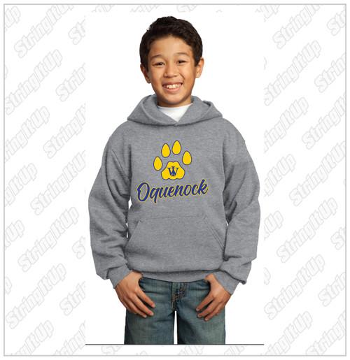 Oquenock Youth Port & Company®  - Essential Fleece Pullover Hooded Sweatshirt