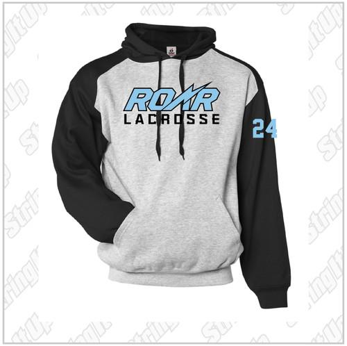 Roar 2027 Adult Badger Sport Athletic Fleece Hoodie