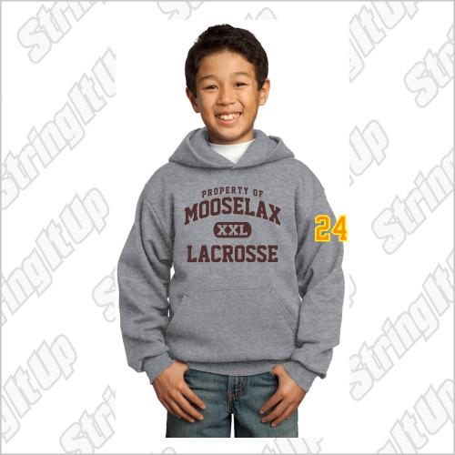 MooseLax Youth Port & Company® Core Fleece Pullover Hooded Sweatshirt