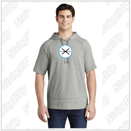 Fogo Lax Academy Sport-Tek ® PosiCharge ® Tri-Blend Wicking Fleece Short Sleeve Hooded Pullover