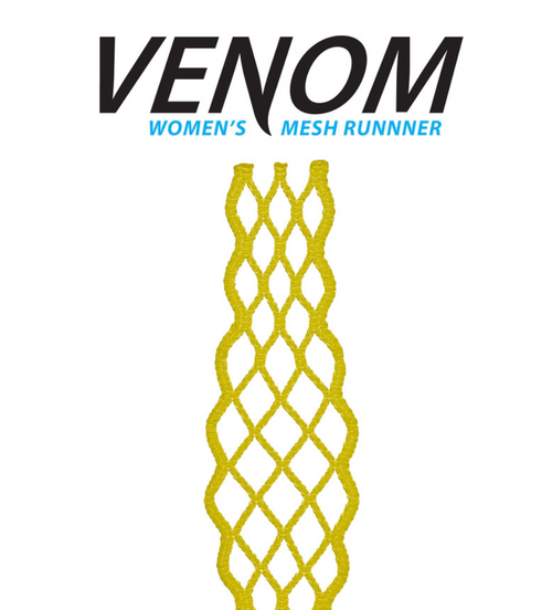 ECD Women Lacrosse Mesh Runner Yellow