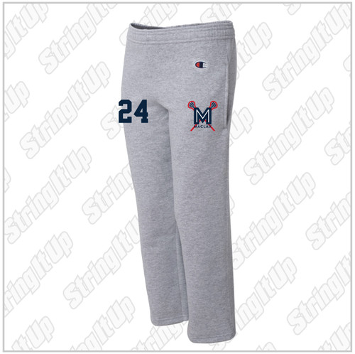MacLax Youth Champion - Double Dry Eco® Youth Open Bottom Sweatpants with Pockets