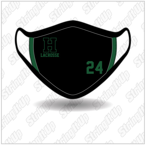 Harborfields Lacrosse - Ear Loop Face Mask