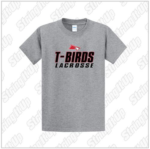 Connetquot Lacrosse Youth Port & Company® Short Sleeve Fan Favorite™ Tee Grey