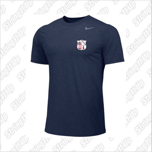 CSH Tennis Nike Short Sleeve Dri-Fit - NAVY