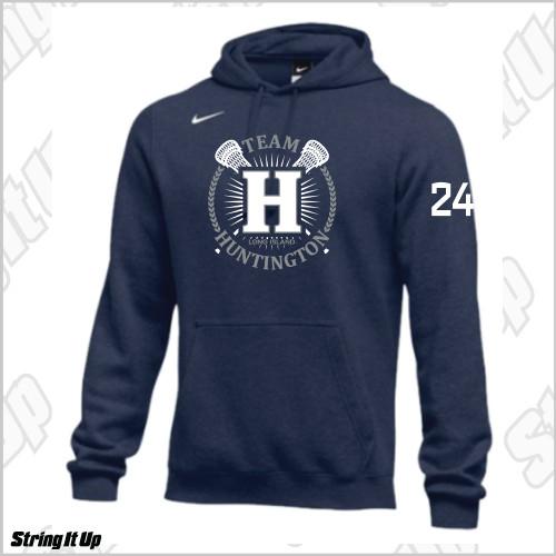 Team Huntington Nike Club Fleece Pullover Hoodie
