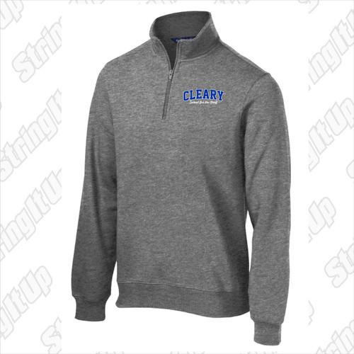 Cleary School Adult 1/4-Zip Sweatshirt