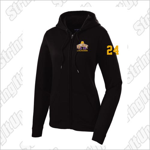 Albany Women's Sport-Tek® Sport-Wick® Fleece Full-Zip Hooded Jacket