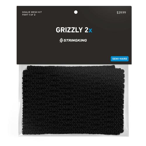String King 12D Grizzly 2X Mesh Black