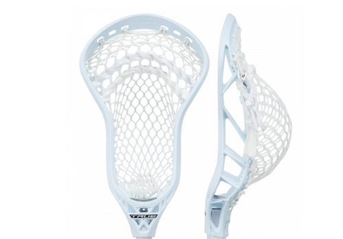 True Lacrosse Key Head Strung White