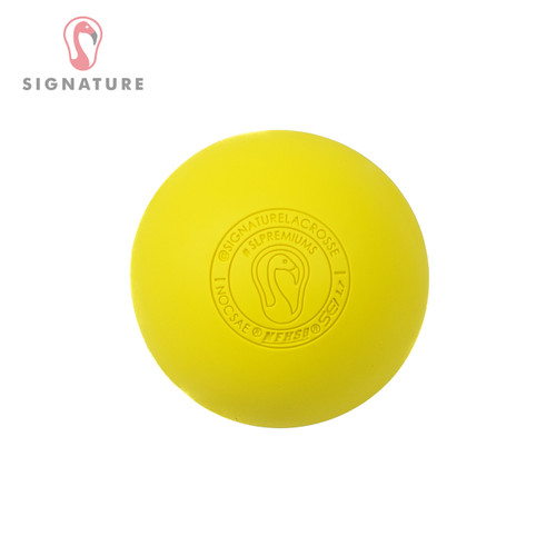 1 Lacrosse Ball - Yellow