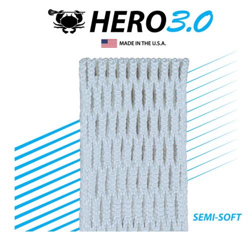 East Coast Dyes ECD Hero 3.0 Semi-Soft Mesh Stringing White