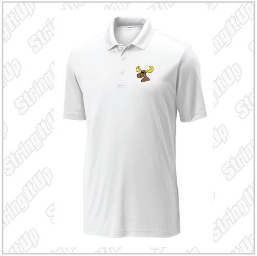 MooseLax Adult Port Authority® Silk Touch™ Performance Polo