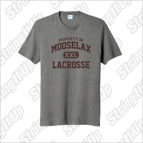 MooseLax Youth Short Sleeve Blend Tee
