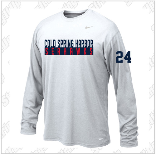 CSH Girls Soccer Nike Long Short Sleeve Legend Tee