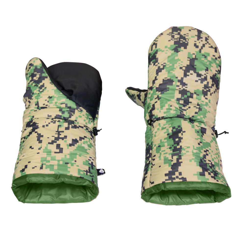 Stronghold Mittens - Flip Tops 2AP Large Camo 20D/Forest 10D (RD0035)