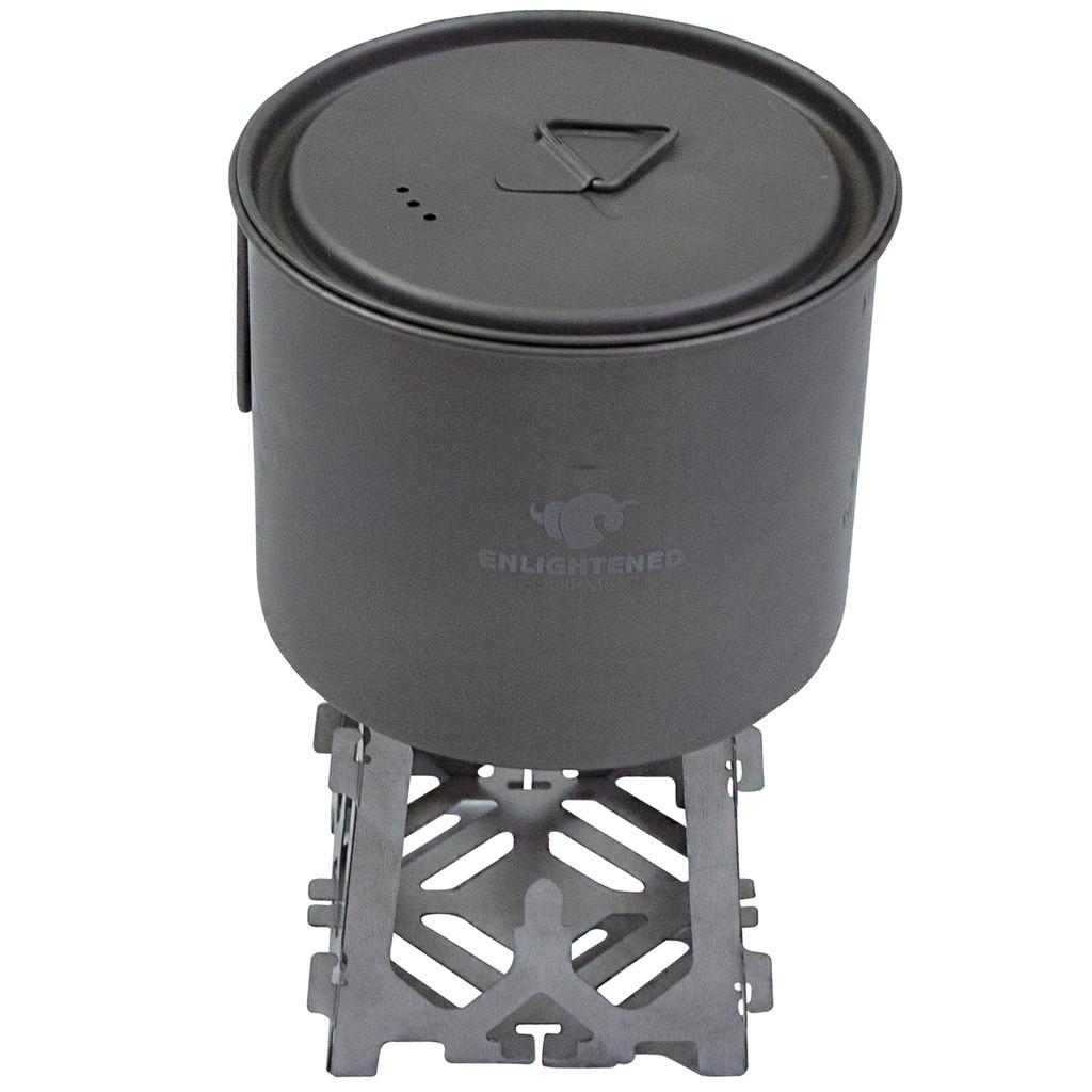Napsiktok Tri-Fuel Titanium Stove