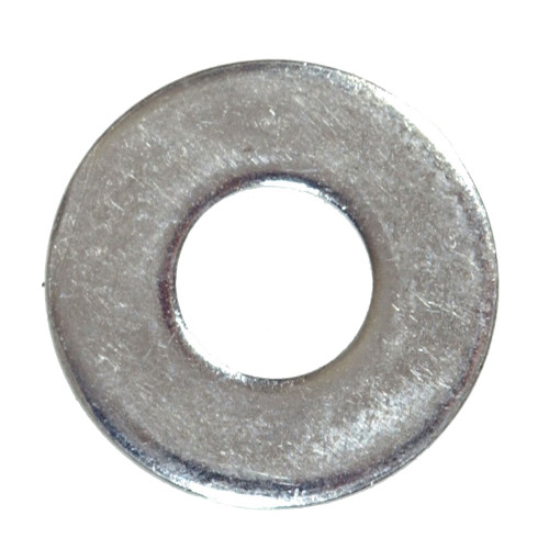 Metric Zinc Plated Flat Washers, Pack of 50